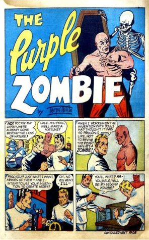 The Purple Zombie (Illustrated) (Uncle Kennys Vintage Comic Books)  by  Tarpe Mills
