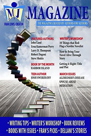 MJ Magazine March - Created Authors for Authors by Fran Lewis