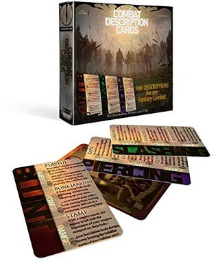Combat Description Cards - Creative Inspiration for Writers, Storytellers and GMs. Contains 120 Cards Rafal Dorsz