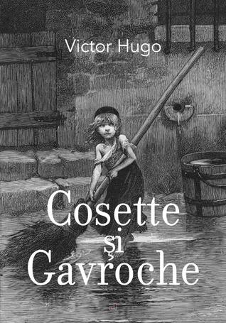 Cosette și Gavroche  by  Victor Hugo