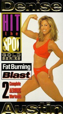 Fat Burning Blast (Hit the Spot: Gold Series) [VHS] Denise Austin