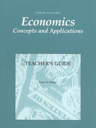 Economics: Teachers Guide 1992  by  STECK-VAUGHN