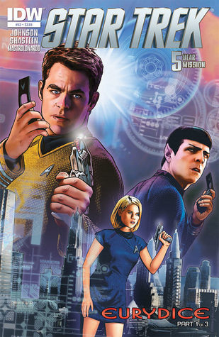 Star Trek #43 – Five Year Mission Mike Johnson