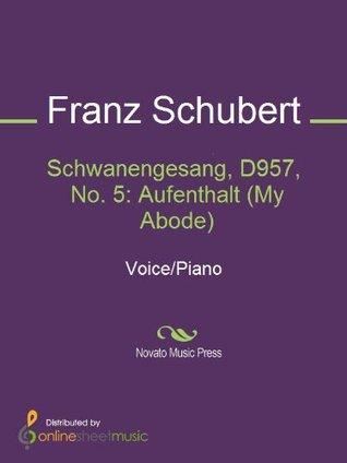Schwanengesang, D957, No. 5: Aufenthalt  by  Franz Schubert