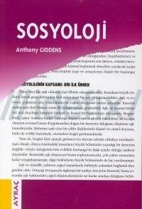 Sosyoloji  by  Anthony Giddens