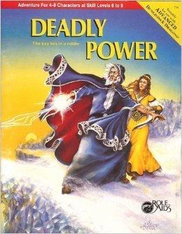 Deadly Power  by  Laurel Nicholson