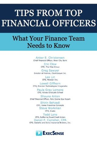 Tips From Top Financial Officers: What Your Finance Team Needs to Know  by  Anker Christensen
