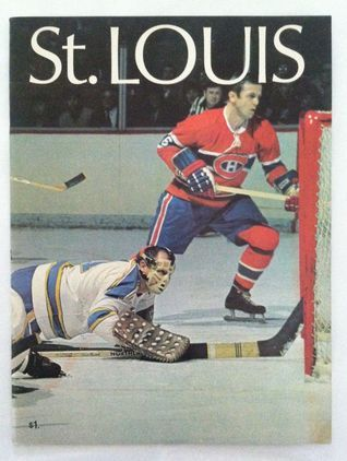 1970 St. Louis Blues NHL Hockey Magazine/Yearbook Various