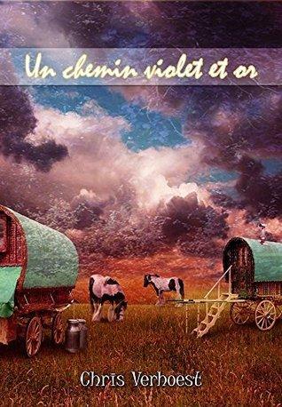 Un chemin violet et or  by  Chris Verhoest