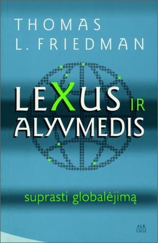 LEXUS IR ALYVMEDIS Thomas L. Friedman