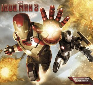 2014 Iron Man 3 Wall Calendar  by  Marvel Enterprises Inc