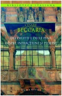 Despre infracțiuni și pedepse  by  Cesare Beccaria
