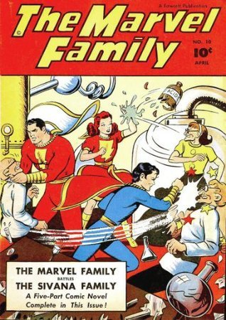 The Marvel Family #10  by  Fawcett Comics