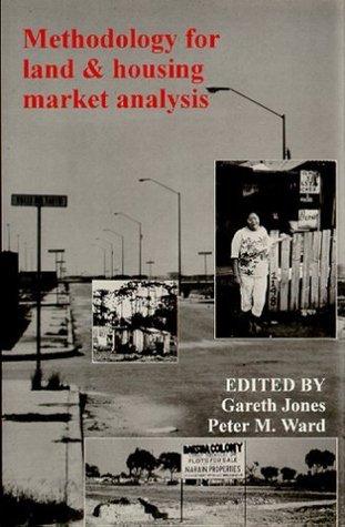 Methodology For Land And Housing Market Analysis Gareth Jones