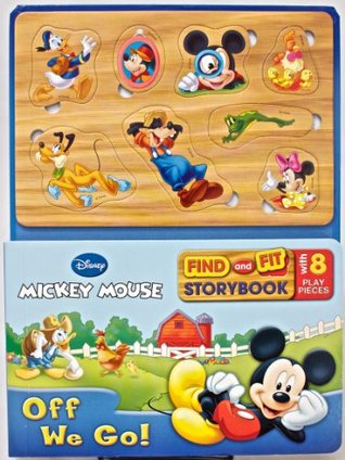 Mickey Mouse (Find and Fit Storybook) Parragon Publishing