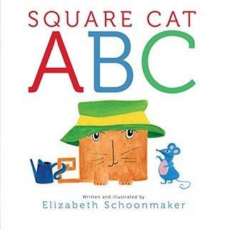 Square Cat ABC  by  Elizabeth Schoonmaker
