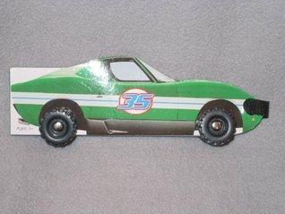 Green Race Car 35 Nicholas Manning