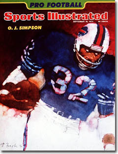 1974 Sports Illustrated  O.J. Simpson Cover Various