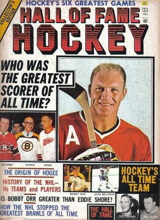 1973 Hall of Fame Hockey Magazine Bobby Hull, Chicago Blackhawks  by  Various