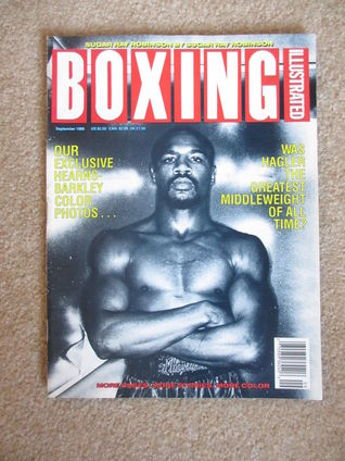 September 1988 BOXING ILLUSTRATED Magazine Marvin Hagler Cover  by  Various
