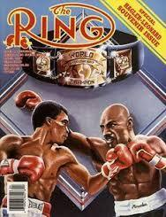 Ring Boxing Magazine April 1987-Hagler-Leonard Souvenir Issue Various