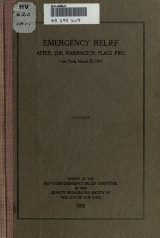 Emergency Relief After the Washington Place Fire, New York, March 25, 1911  by  Robert W. DeForest