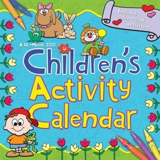 CHILDRENS ACTIVITY CALENDAR 2010 Wall Calendar NOT A BOOK