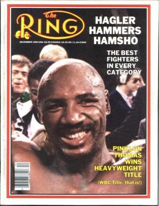 The RING Magazine Dec 1984 cover: Marvin Hagler Various