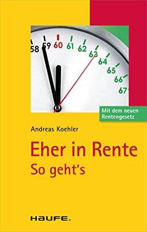 Eher in Rente: TaschenGuide Andreas Koehler