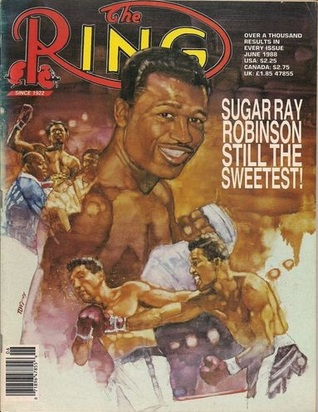 The RING Magazine -  June 1988 - cover: Sugar Ray Robinson  by  Various