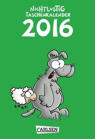 Nichtlustig Taschenkalender 2016 Joscha Sauer