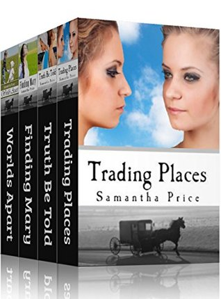 Amish Twin Hearts BOXED SET Books 1 - 4 (Amish Romance): Amish Romance Book Bundle  by  Samantha Price