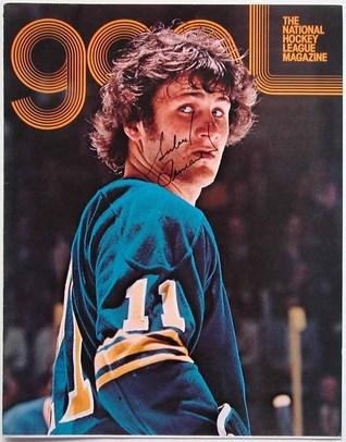 Goal Magazine (NHL Game Program)  - Gilbert Perreault Cover Various