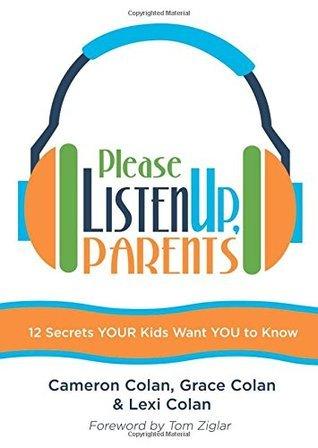 Please Listen Up, Parents Cameron Colan