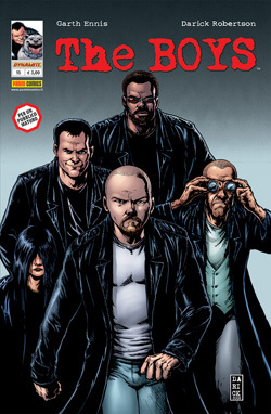 The Boys n. 15  by  Garth Ennis