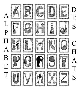 LAlphabet des chats  by  Evelyne Nicod