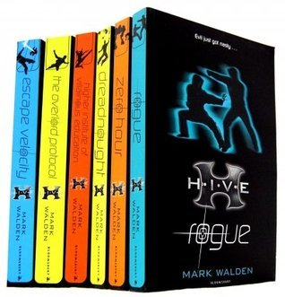 Mark Walden 7 Books Collection Set (H.I.V.E Series) (Aftershock, Rogue, Higher School of Villainous Education, Escape Velocity, Zero hour, Dreadnought, The Overlord protocol)  by  Mark Walden