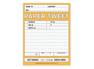 Paper Tweet Nifty  by  Knock Knock