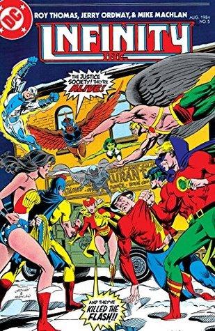 Infinity, Inc. (1984-) #5 Roy Thomas
