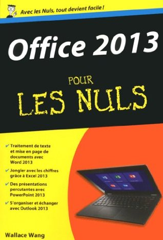 Office 2013 pour les Nuls Wallace Wang