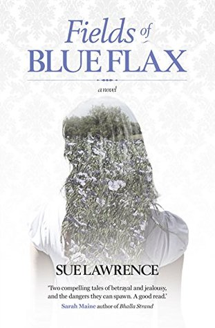 Fields of Blue Flax  by  Sue Lawrence