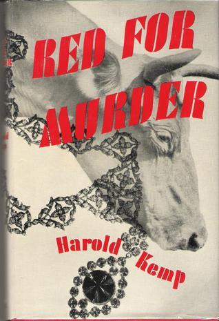 Red for Murder Harold Kemp