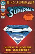 El Reino de los Supermanes, libro 1 - Superman ¡Vuelve el Hombre de Acero!  by  Louise Simonson