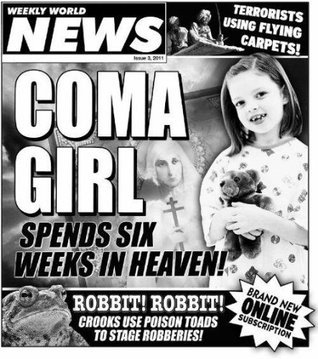 Weekly World News 2011 Issue 3  by  Weekly World News