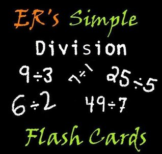 ERs Simple Division Flash Cards Edward Ross