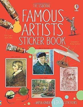 Famous Artists Sticker Book Megan Cullis