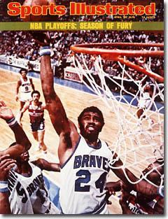 1975 Sports Illustrated - GAR HEARD BUFFALO BRAVES COVER Various