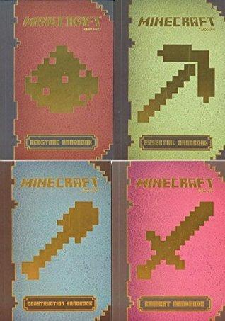MinecraftTM Handbook Pack (4 Ct.) : MinecraftTM: Essential Handbook, MinecraftTM Construction Handbook, MinecraftTM: Combat Handbook, MinecraftTM Redstone Handbook Nick Farwell