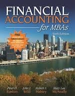Financial Account for MBAs, 6th Edition  by  Peter D. Easton