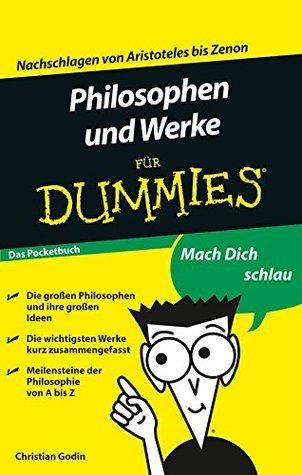 Philosophen und Werke für Dummies  by  Christian Godin